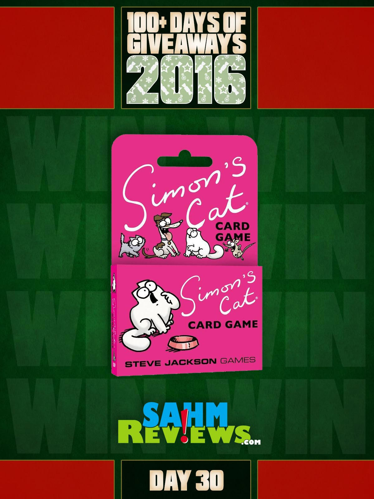 Mega Giveaway Day 30 Simon's Cat Game Card games, Game