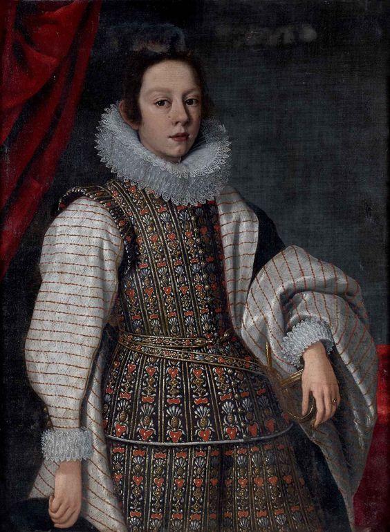 Presumed Portrait of Mattias de Medici (1613-1667) by Justus - what is presumed