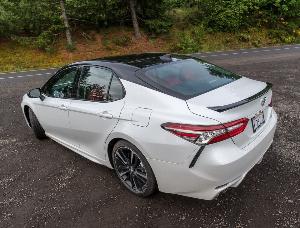Driven 2018 Toyota Camry Xse Toyota Camry Camry Toyota