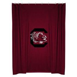 South Carolina USC Gamecocks NCAA Bathroom Shower Curtain