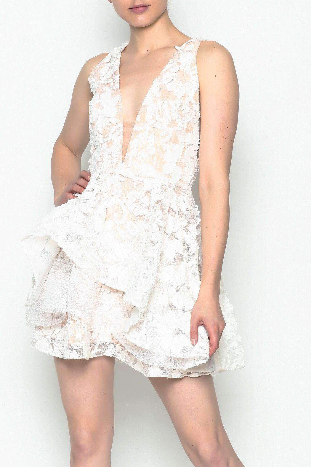 White Layered Dress Dresses Layer Dress Lace Dress [ 1575 x 1050 Pixel ]