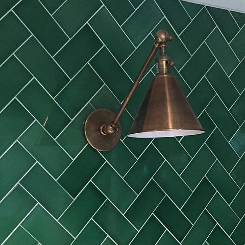 이렇게 예쁜 초록 타일은 어디 없나요? #인테리어 #디자인 ...
