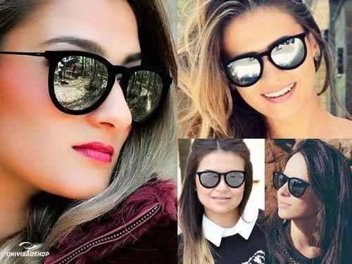 oculos de sol-feminino erika velvet ray ban veludo espelhado ... e13f410103433