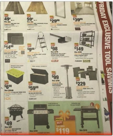 Home Depot Black Friday 2020 Deals, Offers, Discount & Ad ...