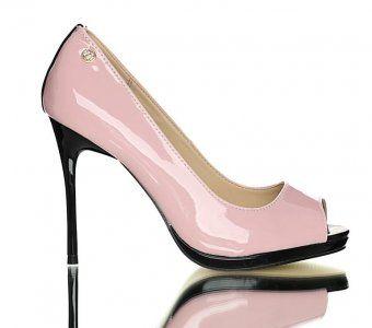Rozowe Szpilki Na Platformie Monnari Bez Palcow 37 6277314117 Oficjalne Archiwum Allegro Heels Stiletto Heels Stiletto