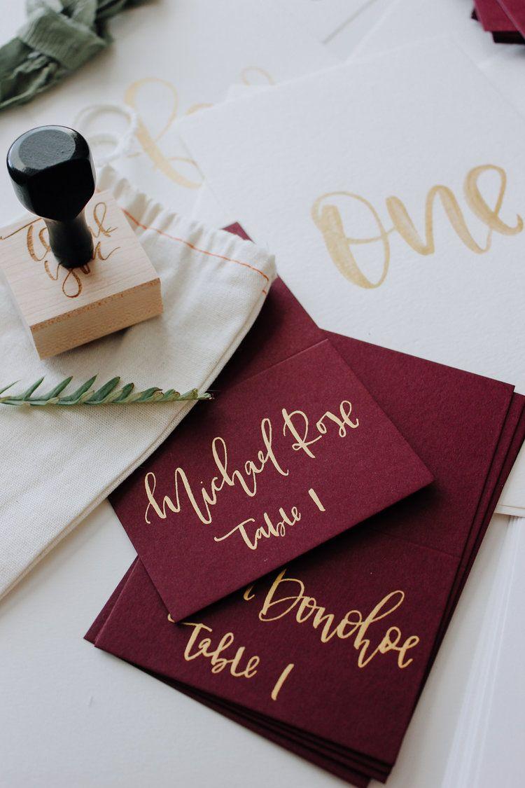 Fall Inspired Wedding Stationery | Weddings and Wedding