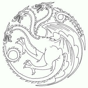Game Of Thrones Coloring Book Sketch Coloring Page Game Of Thrones Drawings Dragon Coloring Page Coloring Books