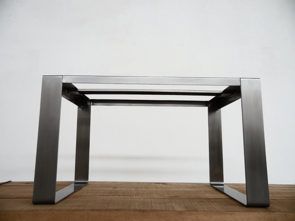 28 H X 28 W Apart 52 Wide Flat Stainless Steel R Table Base