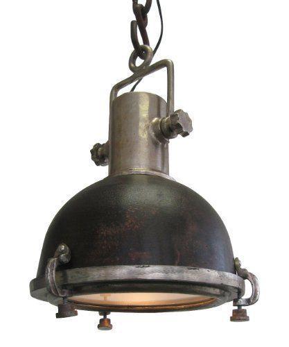 Ausgefallene deckenlampen  AUSGEFALLENE DECKENLAMPE MODELL 'LOTTE' IM INDUSTRIE-DESIGN ROST ...