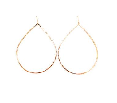 Hula Hoops Maui Tear Drop Earrings Png Hoop Earrings Hoops Earrings