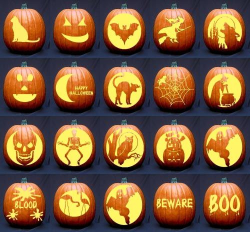 Free Pumpkin Carving Stencils, Templates & Patterns Ideas - Modern Homes Interior Design and Decorating Ideas on Decodir