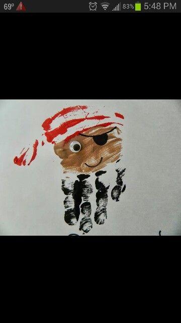 Pirate Handprint