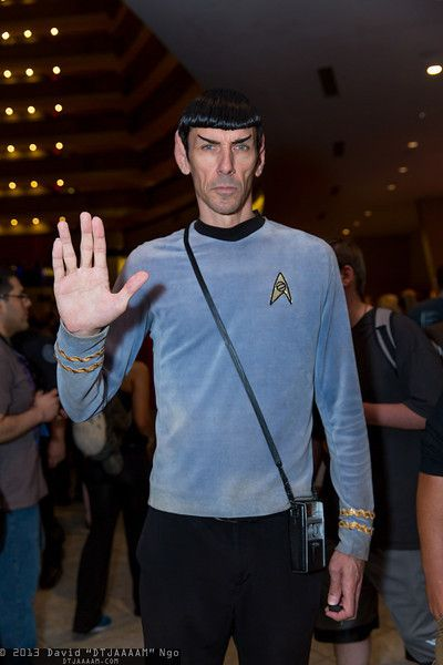 Spock DragonCon 2013 This guy looks way too much like 1970s - mens halloween costume ideas 2013