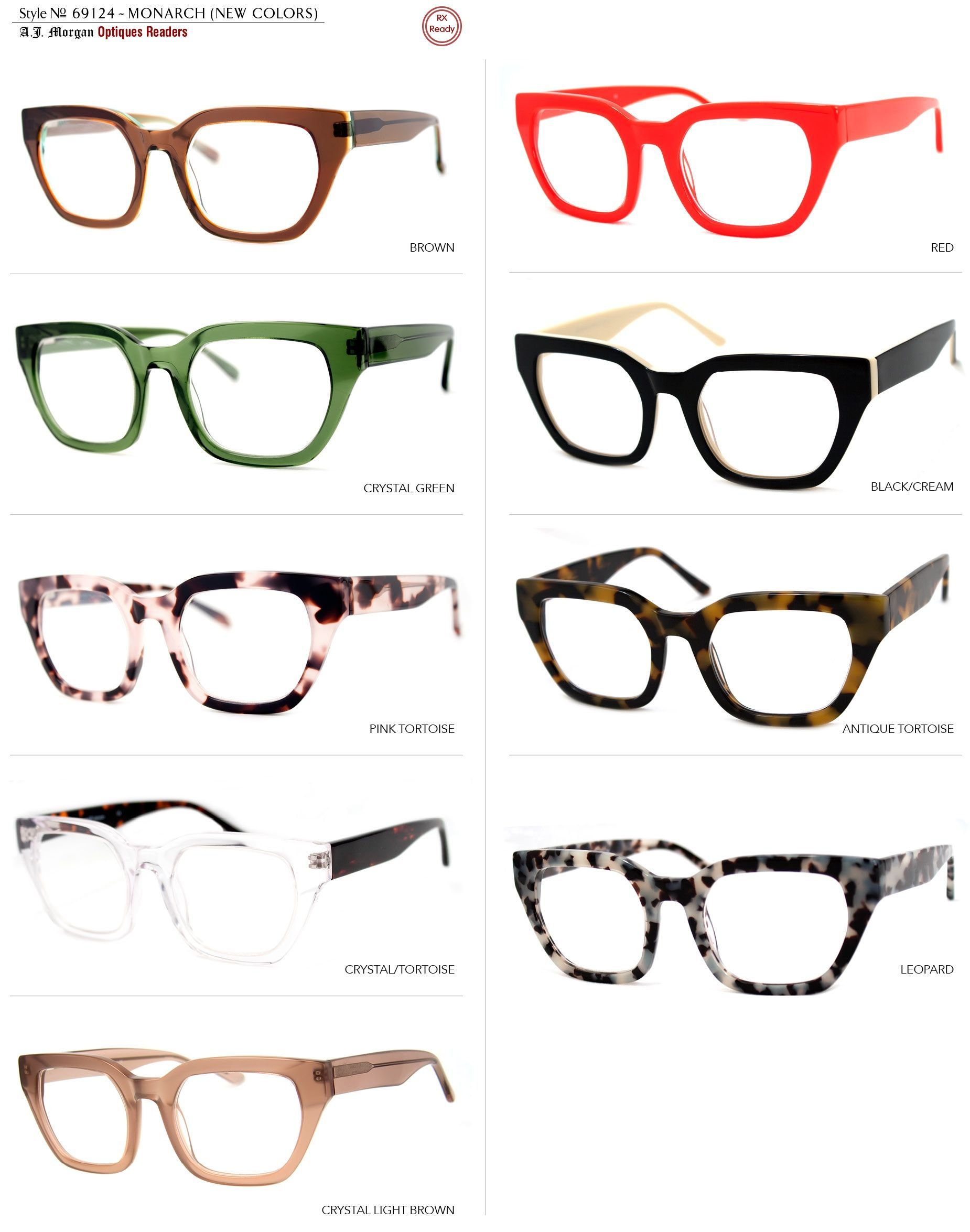 6abf1c7a2603 Thick Hip Trendy Reading Glasses by AJ Morgan | Products I Love ...