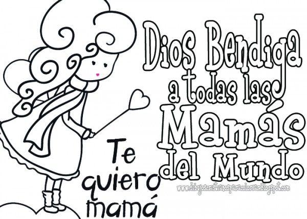 Resultado De Imagen Para Dibujos Tiernos Para El Dia De La Madre Día De La Mama Dia De Las Madres Escuela Dominical