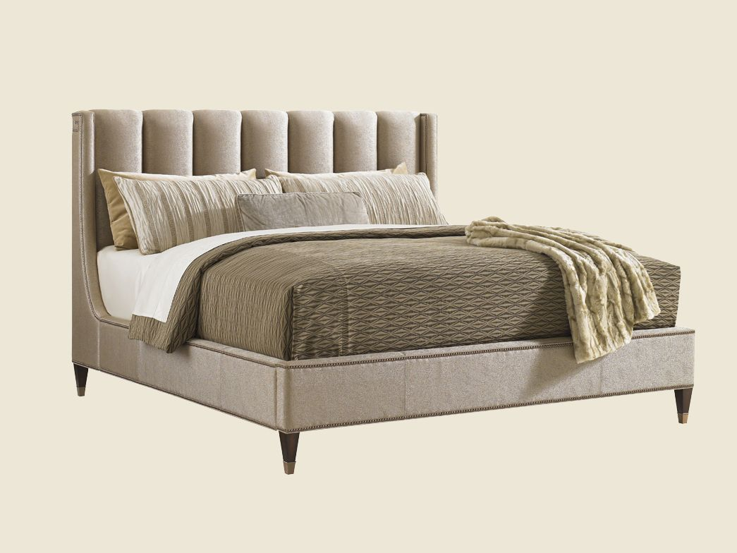 Tower place barrington upholstered platform bed king lexington tower place barrington upholstered platform bed king lexington furniture amipublicfo Image collections