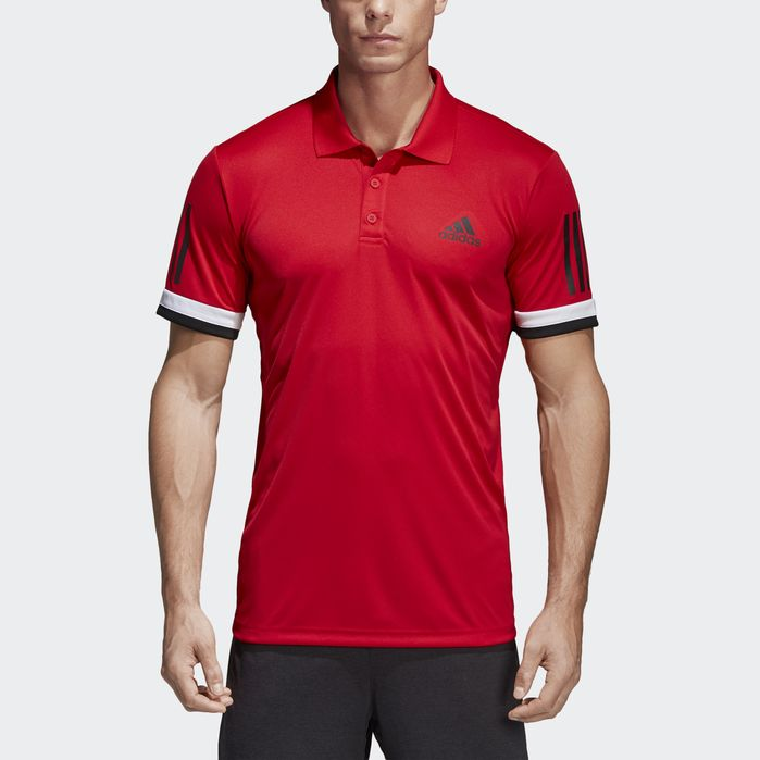 3c5f842beb 3-Stripes Club Polo Shirt | Products | Polo, Polo shirt, Mens tops