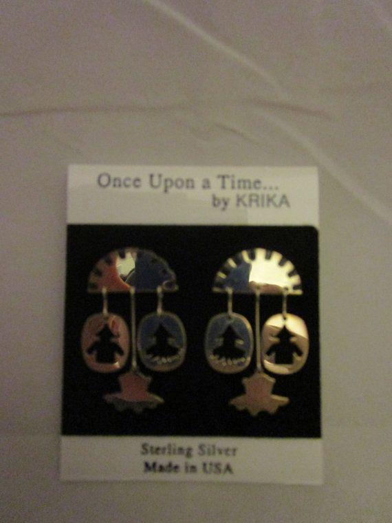 Wizard of Oz Earrings Krika by OzRoad on Etsy