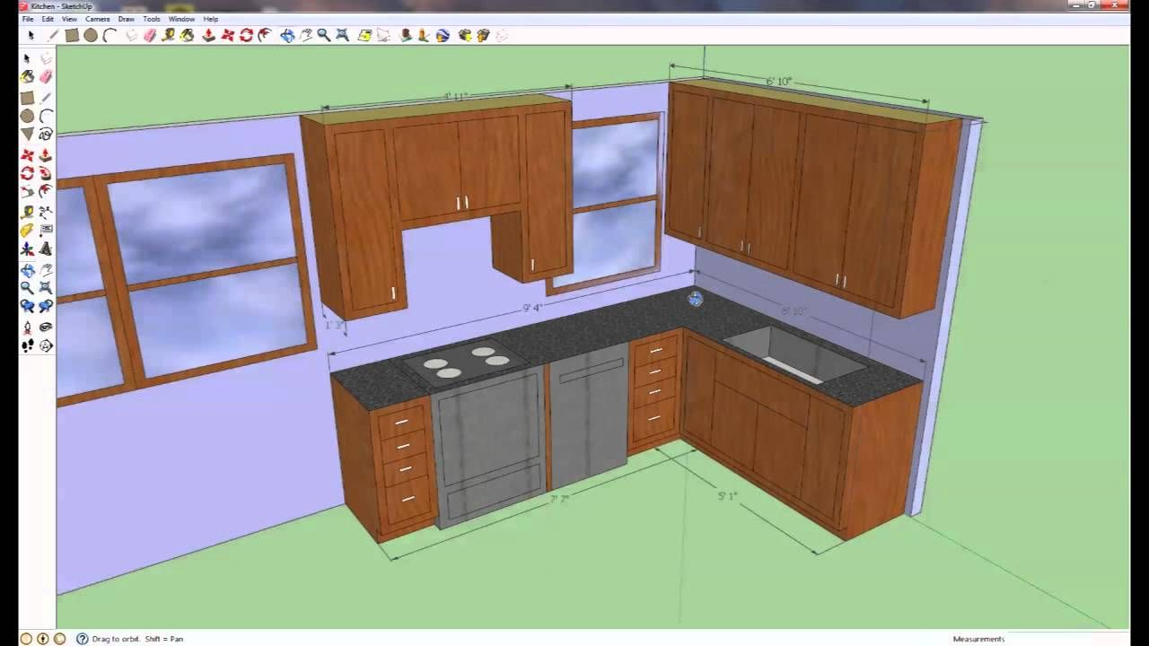 How To Build Your Own Kitchen Cabinets: Kitchen Overview | Home ...