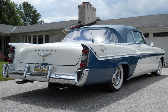 1956 Desoto Fireflite Convertible Classiccars Re Pin Brought To