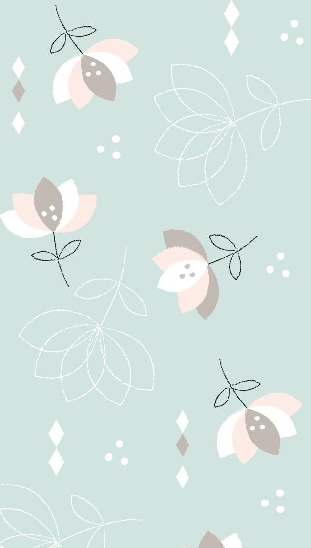 Soft Flowers Pastel Iphone Wallpaper At Panpins Wallpaper