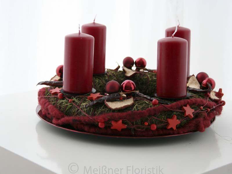 adventskranz adventskranz warme zeiten ein. Black Bedroom Furniture Sets. Home Design Ideas