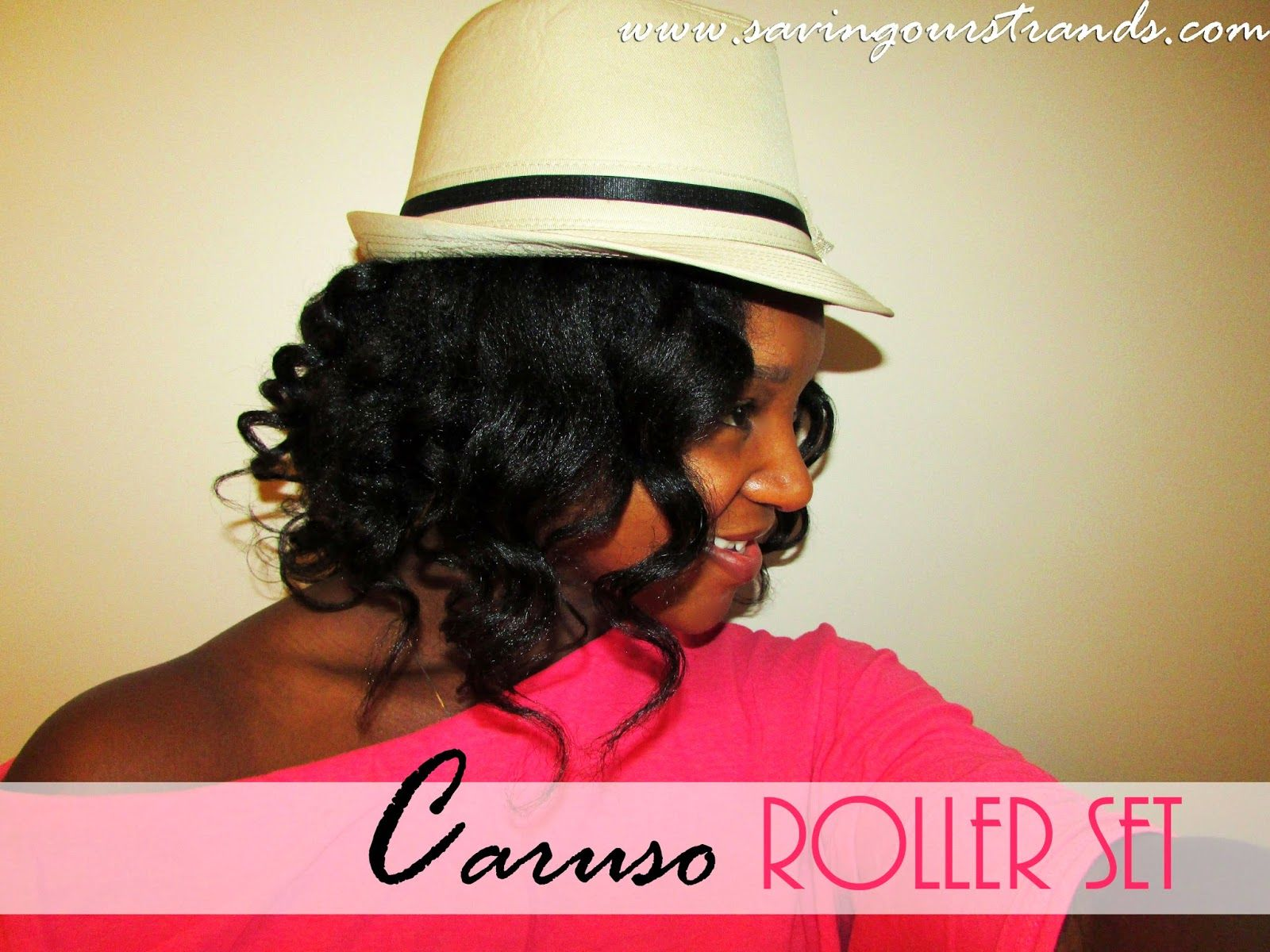 Inverted bob via caruso steam rollers soshair big bad hair