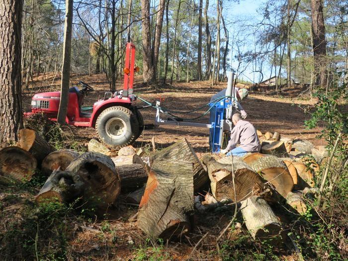 Powerhorse 3Pt. Horizontal/Vertical Log Splitter 22 Tons