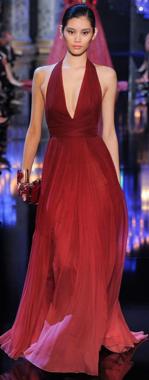 vestido-marsala-madrinha   couture chic   Pinterest   Kostüm, Rot ...