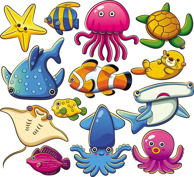 Free Nautical Graphics for Download Cartoon Marine