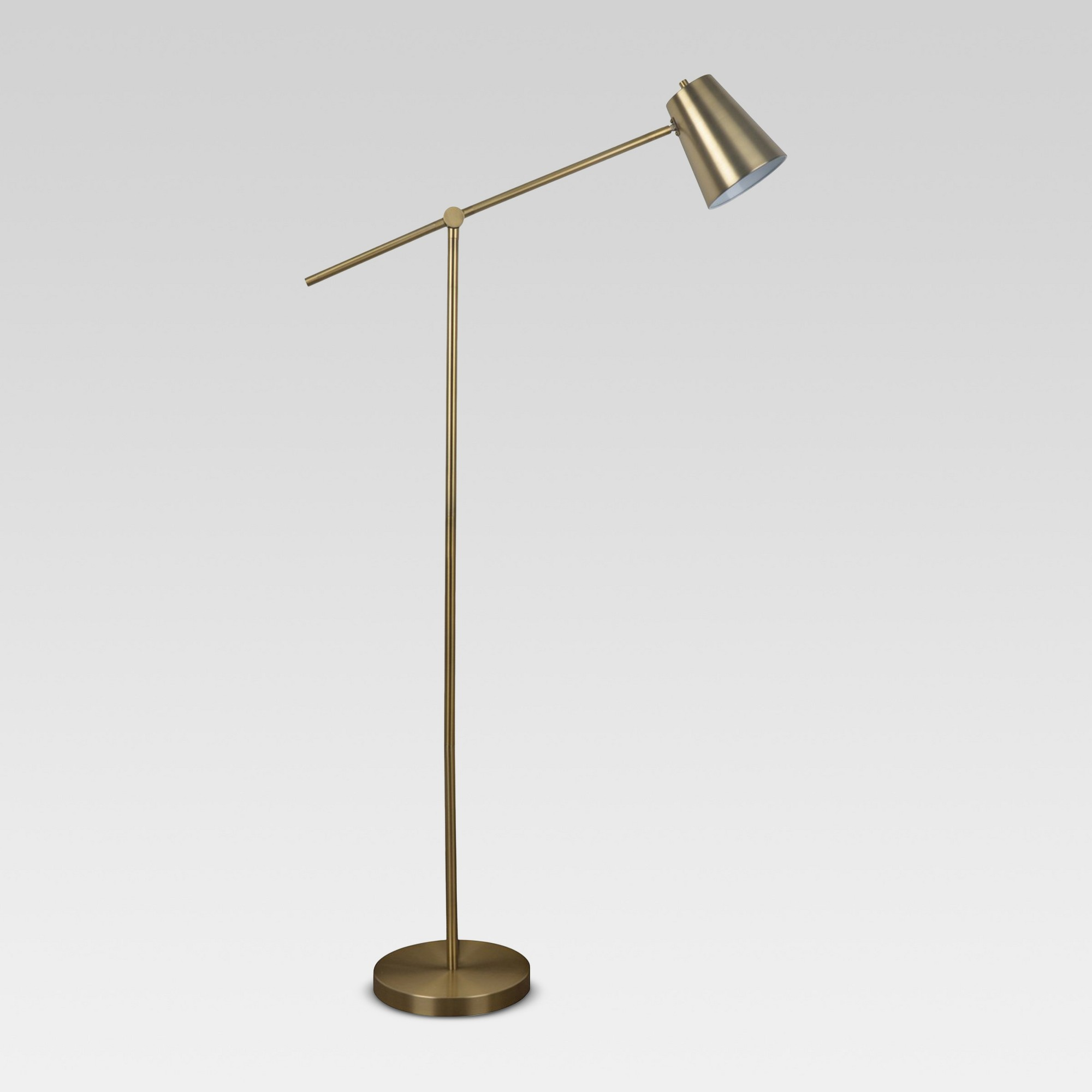 Cantilever Floor Lamp Brass Includes Cfl Light Bulb Project 62 Diy Staircase Diy Staircase Makeover Brass Floor Lamp