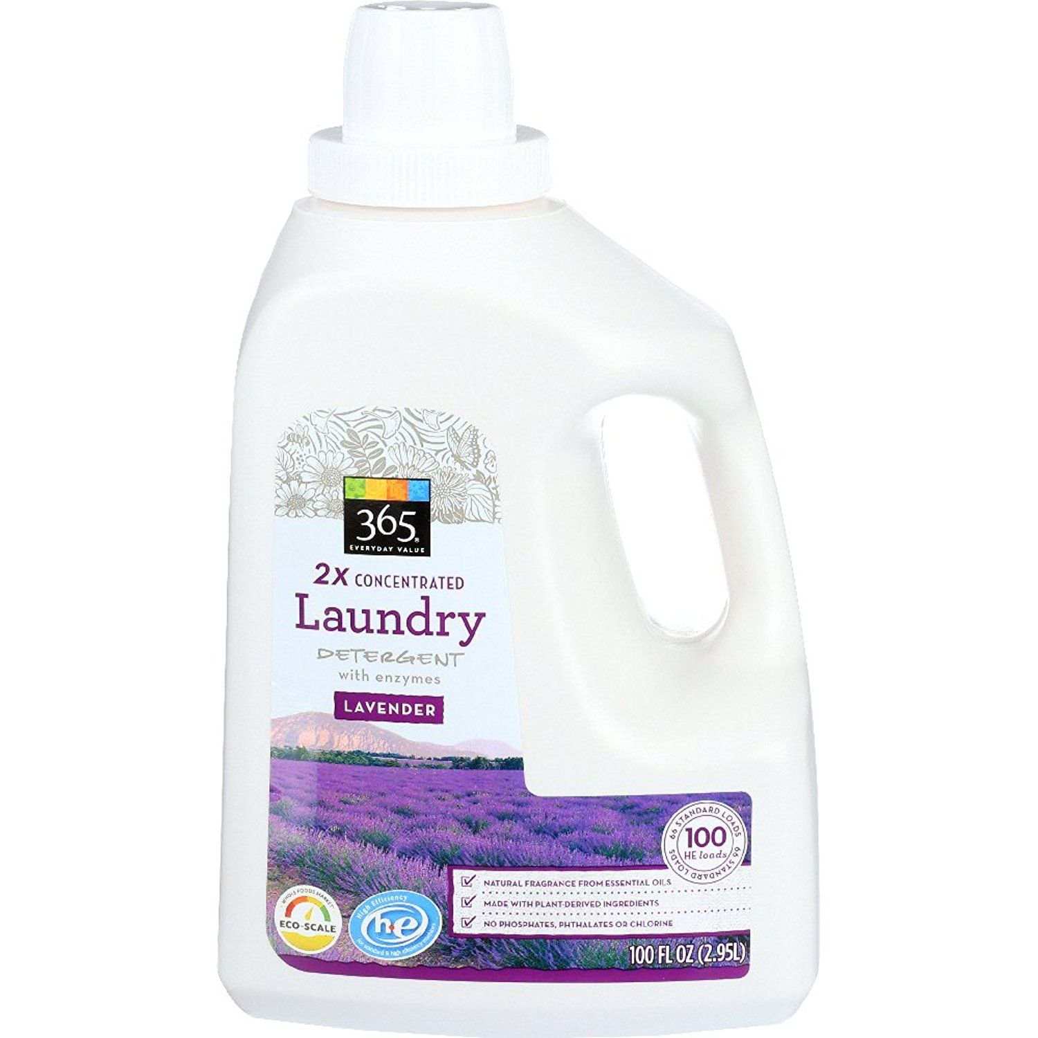365 Everyday Value 2x Concentrated Laundry Detergent Lavender