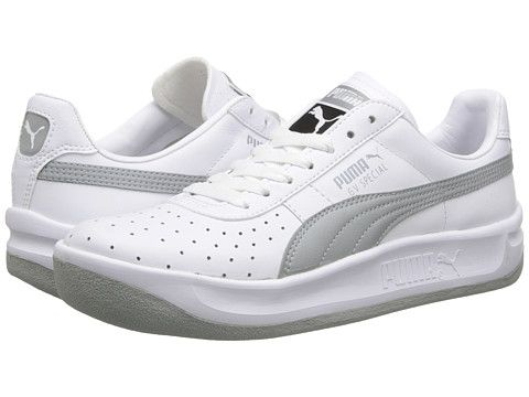 big sale 53858 bc3d4 PUMA GV Special White/New Navy - Zappos.com Free Shipping ...