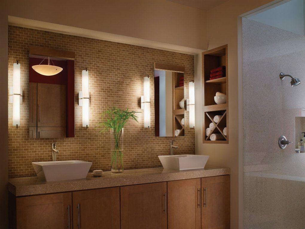 29 easy bathroom lighting plans to update your spa minimalist rh pinterest com