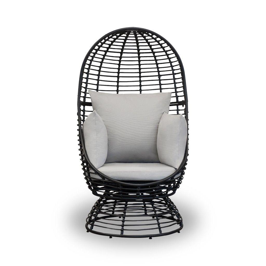 Redding Patio Swivel Chair