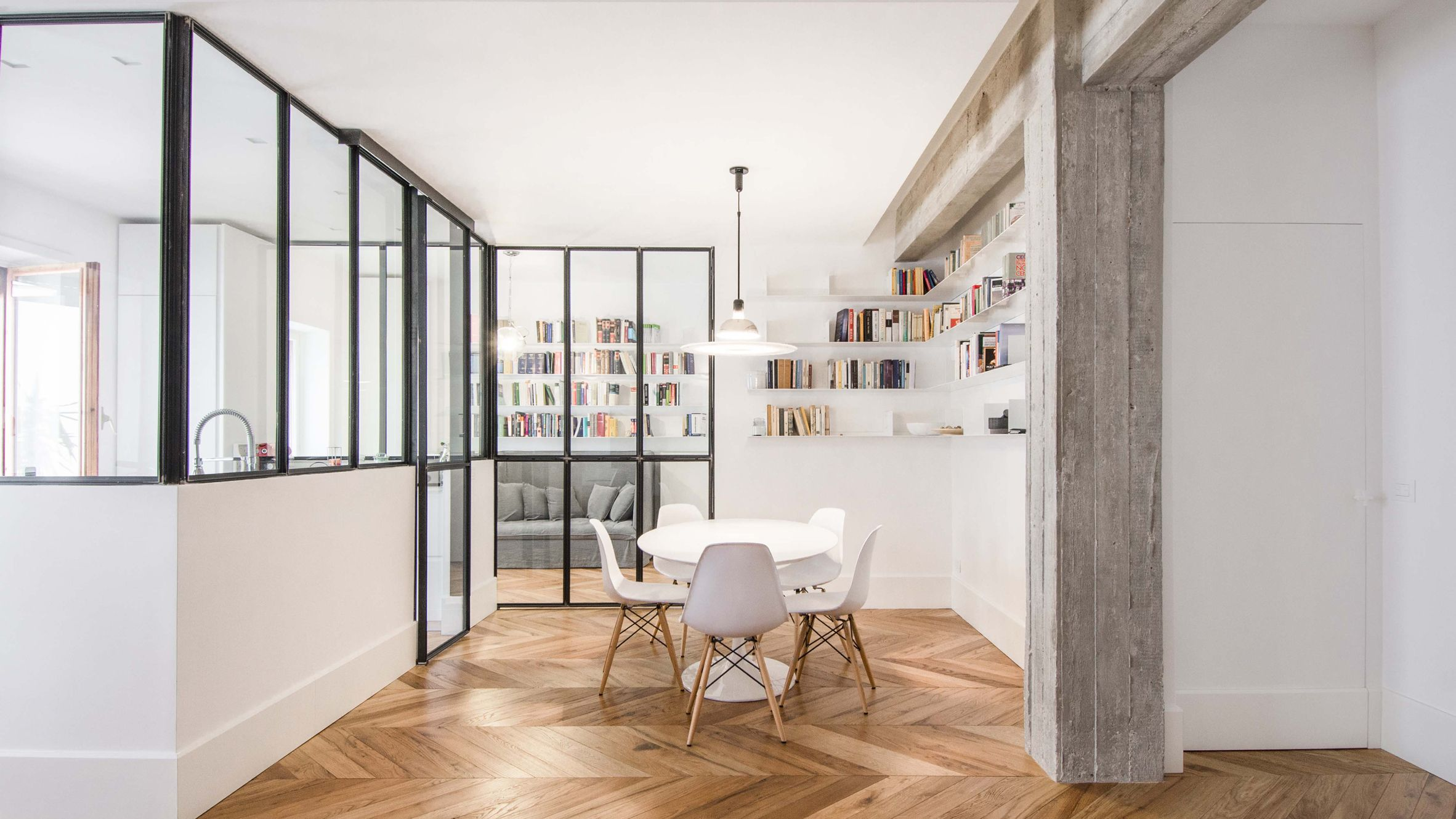 Jadalnia Rome Apartment By Alessandro Tomei Rome Apartment Home Residential Interior