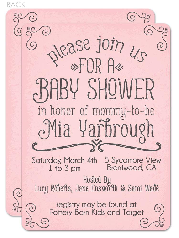 cutiebabes.com baby shower invitation wording ideas (20) #babyshower ...