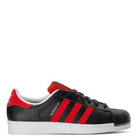 1718850 Adidas Men Charcoal Superstar 2 Sneakers