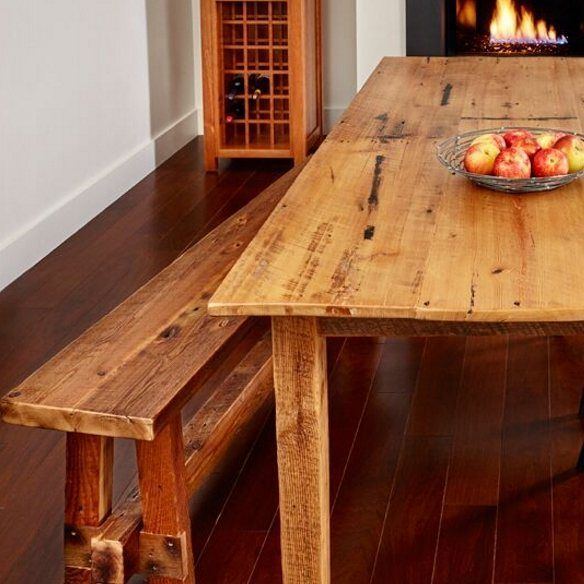 Made From Locally Grown Hemlock Reclaimed A 19th Century B M Canning Factory In Farmington Maine Chilton S Barnboard Table Has Been Among Our Most