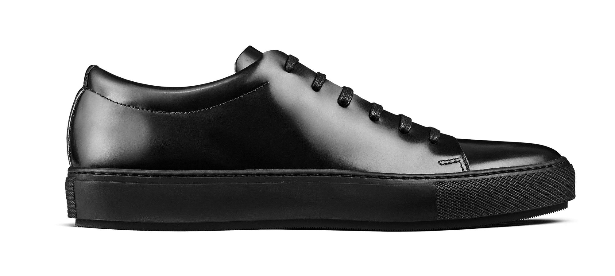 b1fdb85ad Acne Studios Adrian Black Leather tennis shoes | Gift Ideas | Shoes ...