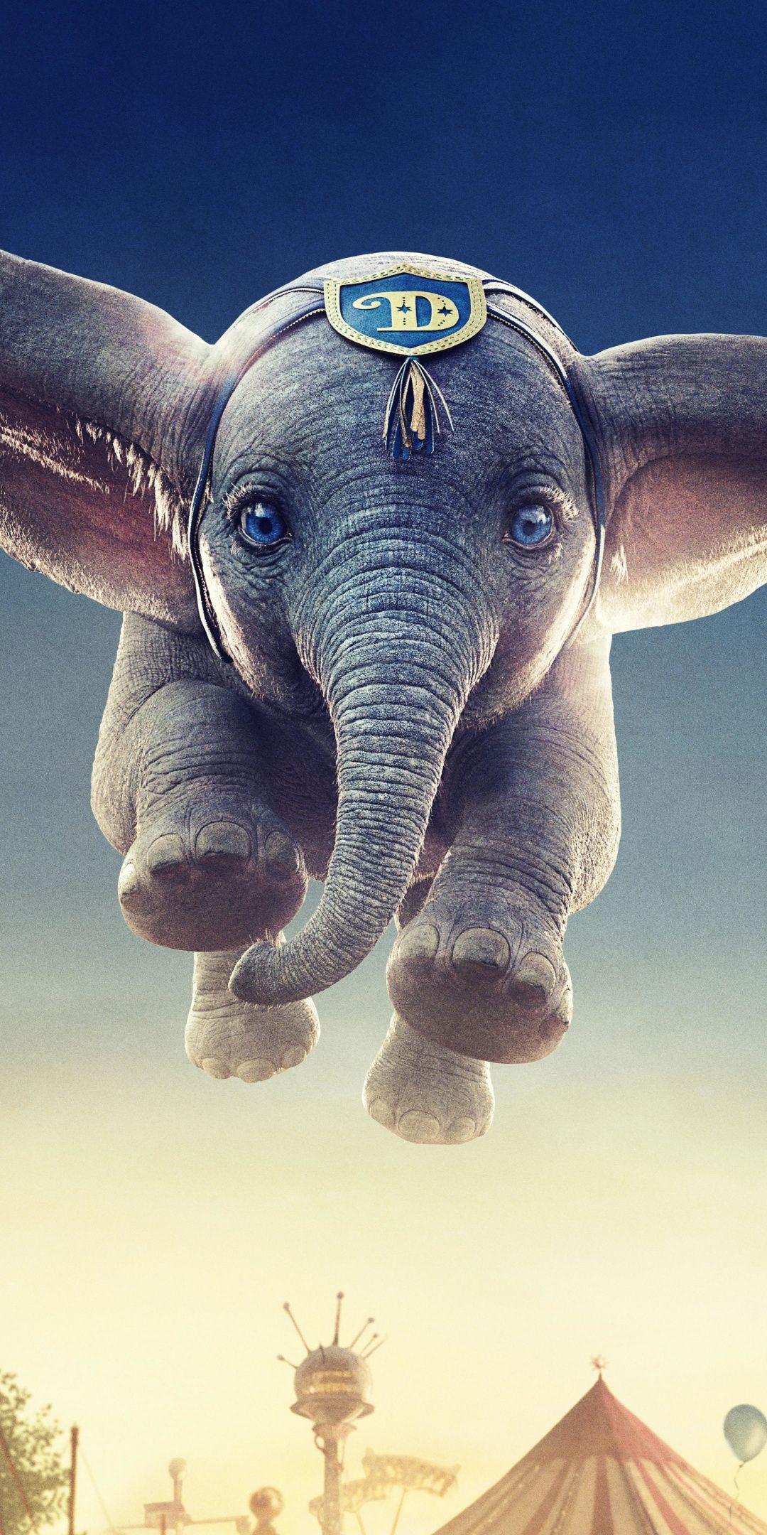 Flying Elephant Dumbo 2019 Movie Wallpaper Elephant Movie Wallpapers Flying Elephant