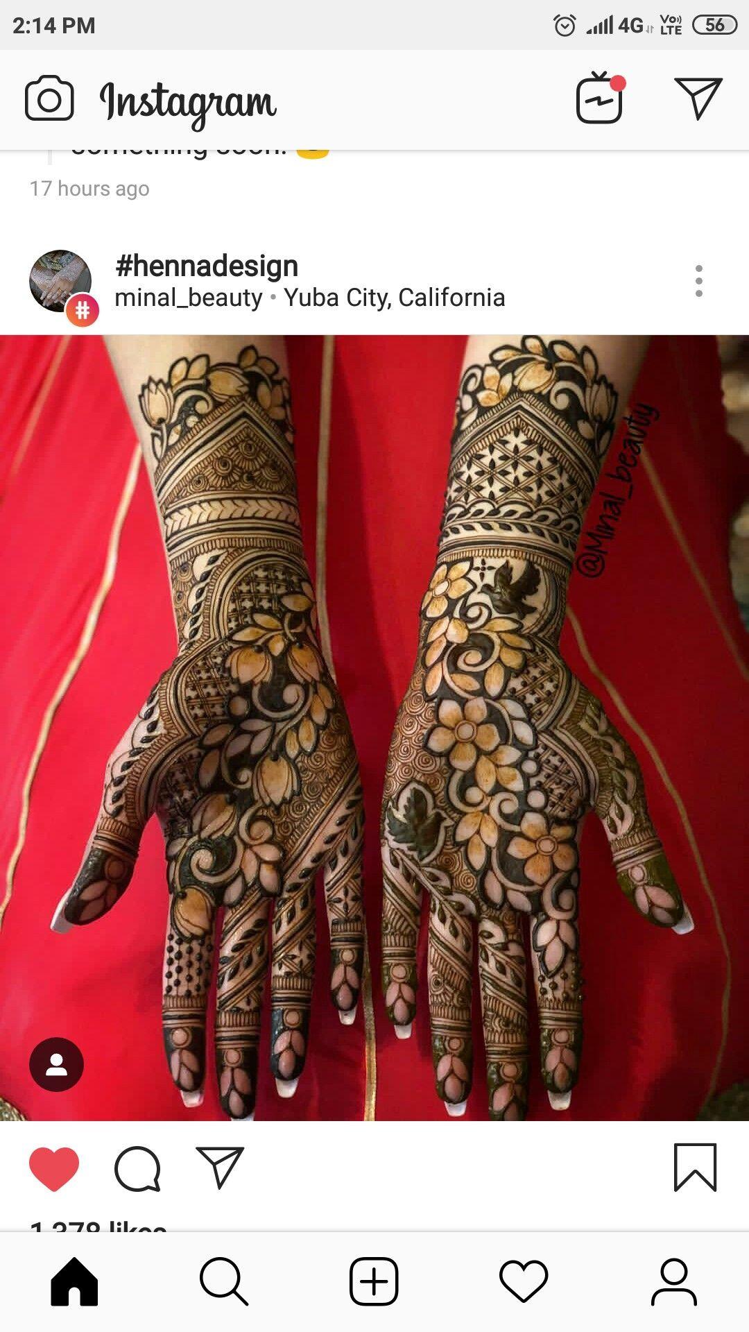Pin By Sangeeta Lodha On Mehndi Wedding Mehndi Designs Bridal Mehndi Designs Floral Henna Designs