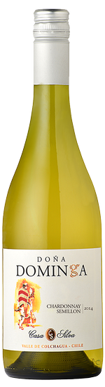 LBV International | Nos vins - Casa Silva, Dona Dominga, Chardonnay Semilion 2013