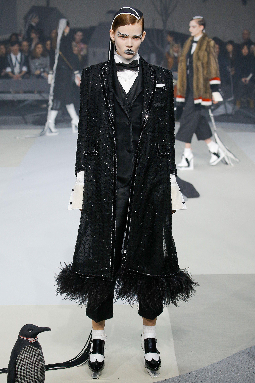 Thom Browne Fall 2017 Ready To Wear Fashion Show Fashion Fall Fashion 2017 Ready To Wear