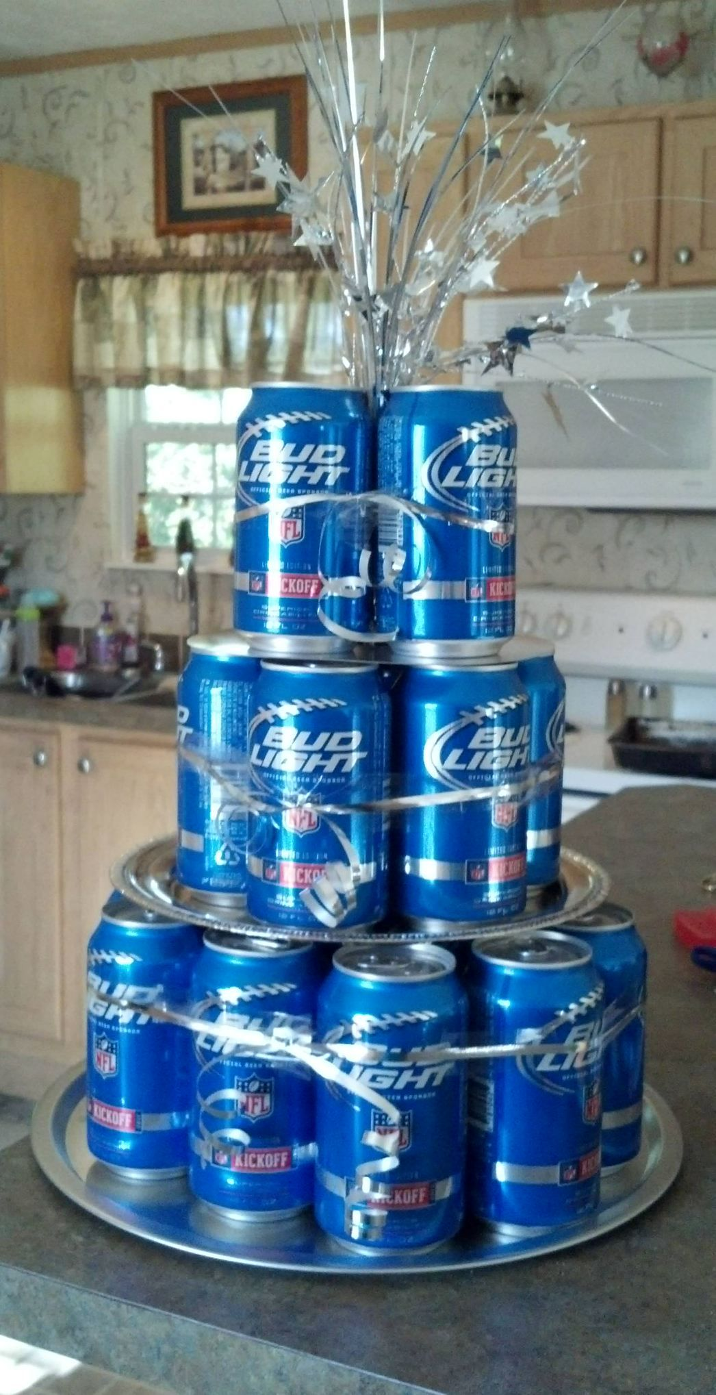 Bud Light Cake Made This As A Gift For Our Friends And It