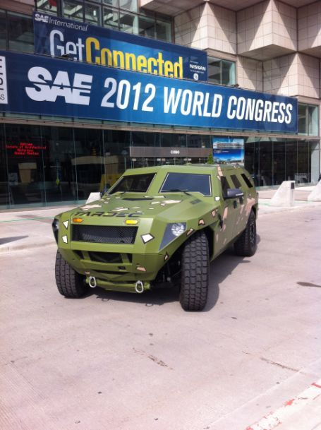 Check Out The New Fed Bravo A Military Vehicle Designed By Ccs