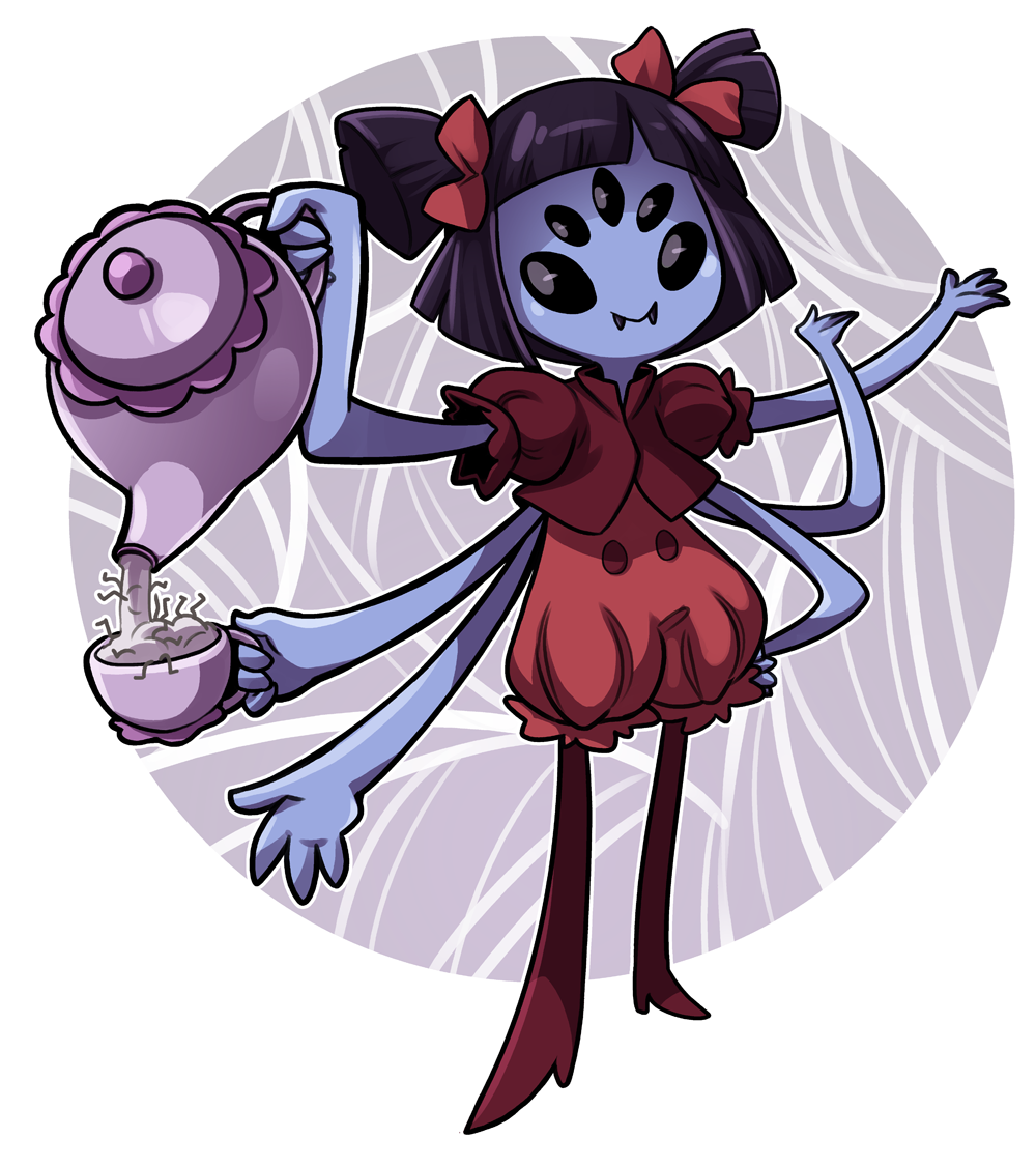 Hey Look Is Miss I Only Want Moneys For My Spiders And Then Ur Body For My Pets Dinner Time Undertale Cute Muffet Undertale Undertale