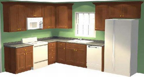 High Quality 000 B Sample Kitchen Cabinet Design Layout Photo (500×269)