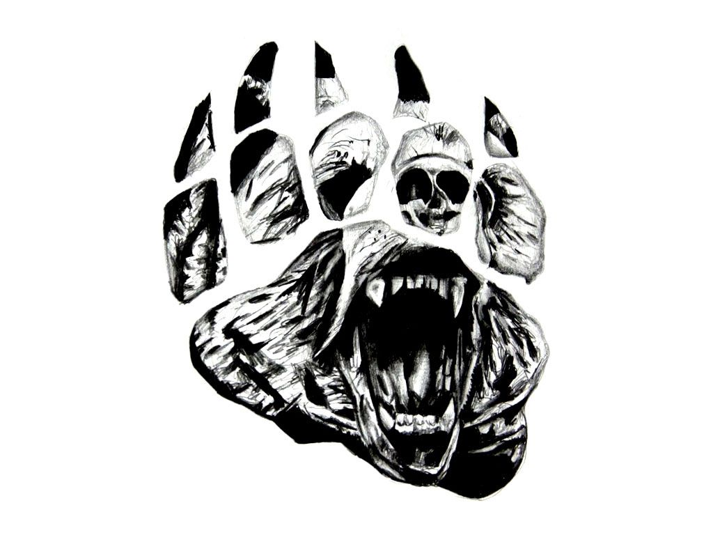 Tribal Grizzly Bear Tattoo Designs Wallpaper Lcpsdht Bears Bear