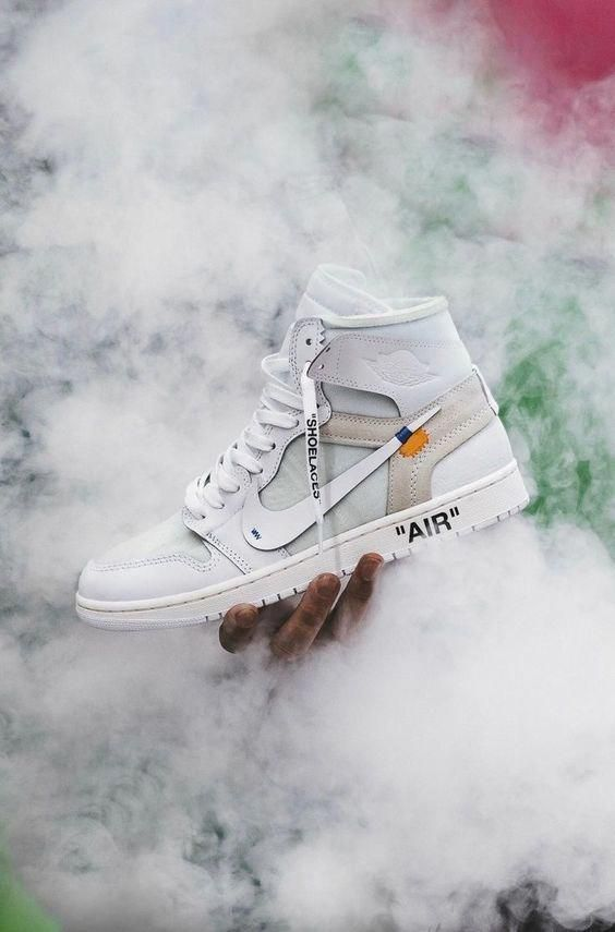 Order The best Nike Off-White Air Jordan 1 OG White / OW online #sneakers #fashion #shoes #sport #fi...